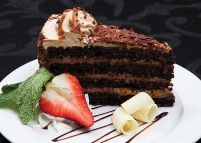 Gardens Menu - Assorted Cakes