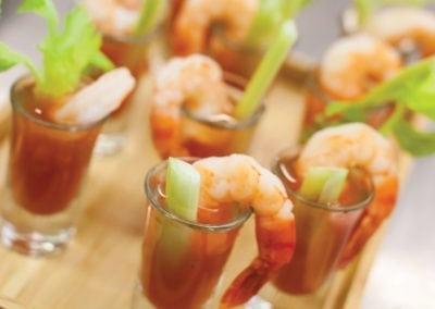 Gardens Menu - Shrimp Caesar