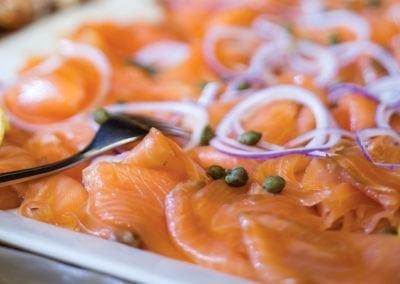 Gardens Menu - Smoked Salmon