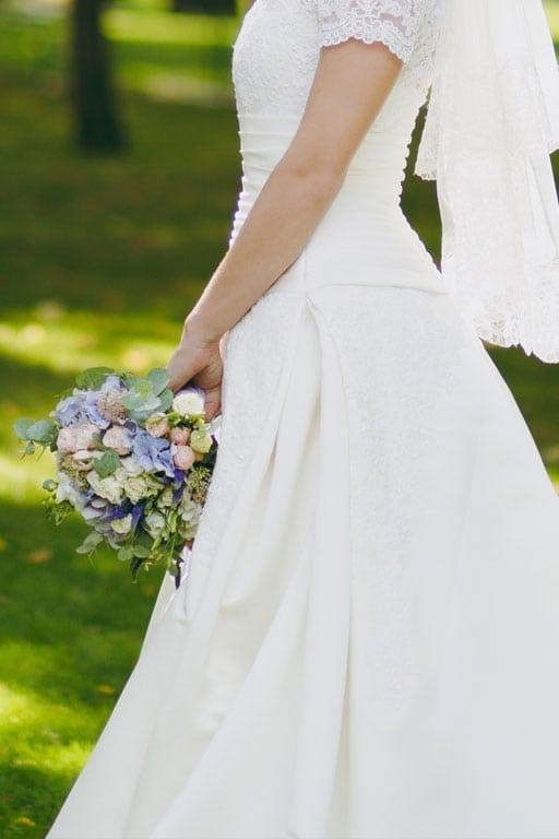 LIUNA Gardens wedding bride