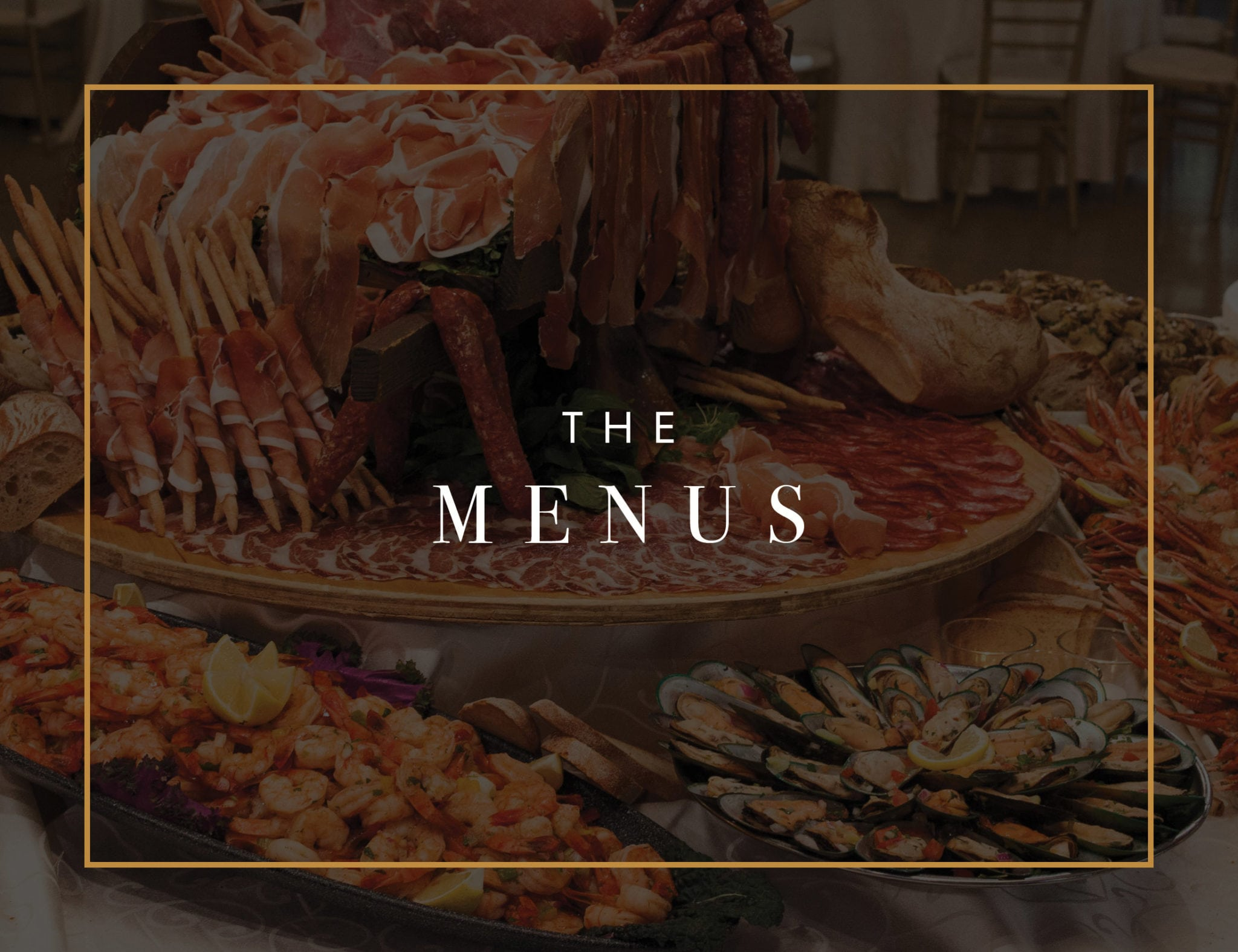 LIUNA Station menu - Supreme Antipasto & Buffets
